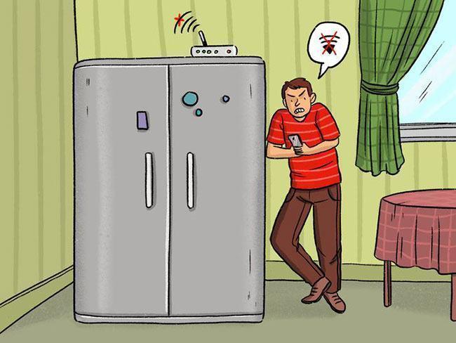 8 thiết bị có thể làm yếu mạng wi-fi trong nhà bạn