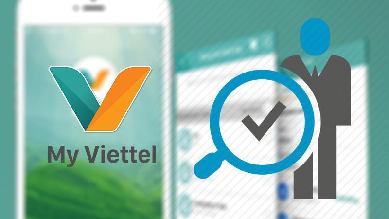 Cách đăng ký sim chính chủ online trên ứng dụng My Viettel tại nhà