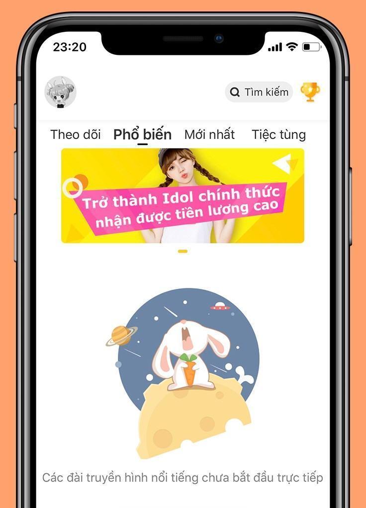 Cách sử dụng Bunny Live, tạo phòng và xem Live stream dễ dàng