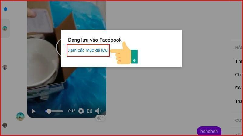Cách tải Video từ Messenger về máy tính, điện thoại không cần cài đặt