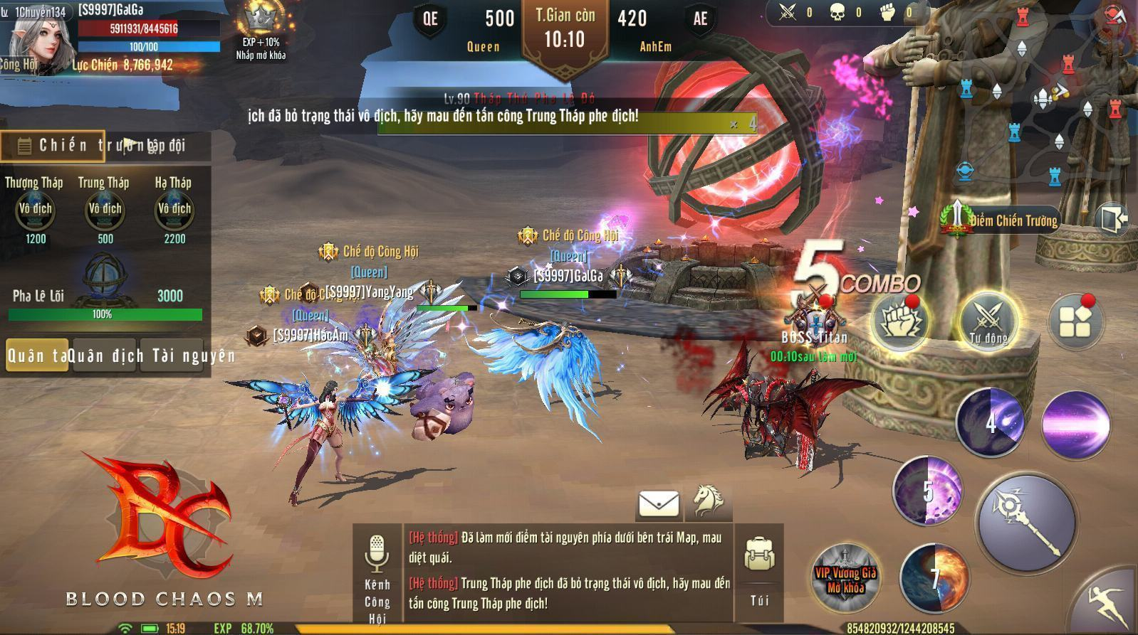 Game thủ Việt - Hàn - Thái nói gì về Blood Chaos M - siêu phẩm nhập vai 18+ sắp ra mắt?