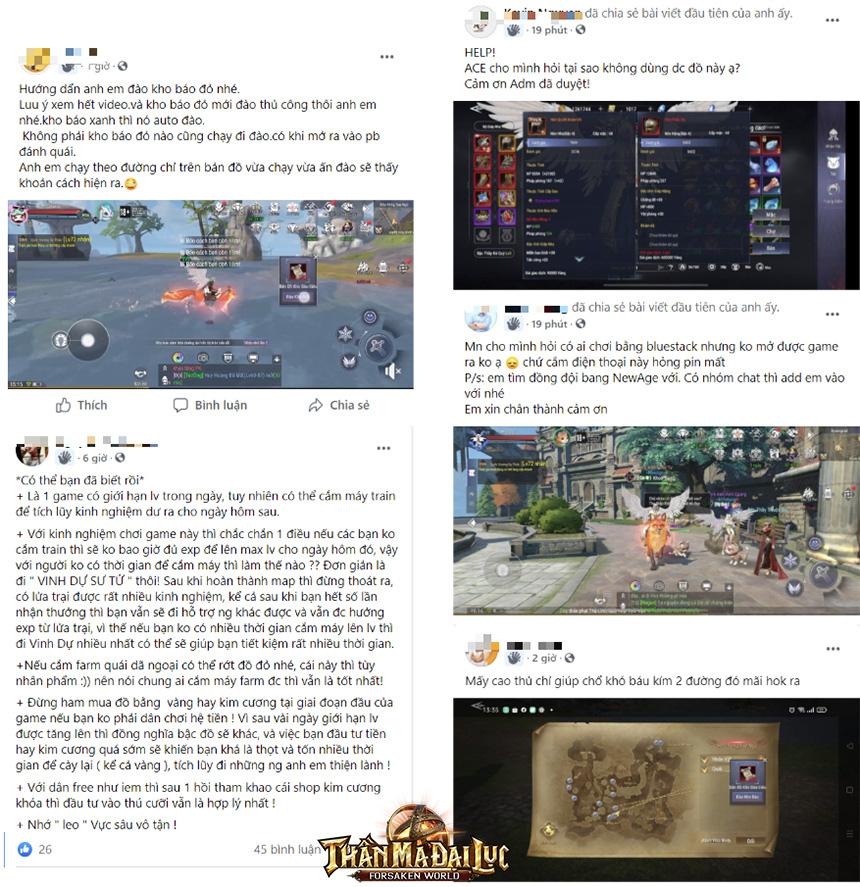 """Game thủ nói """"Mới vào game là thấy Forsaken World: Thần Ma Đại Lục đẹp và đỉnh"""""""