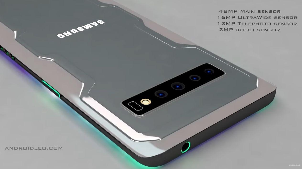 Samsung đang muốn làm gaming phone với quạt tản nhiệt tích hợp?