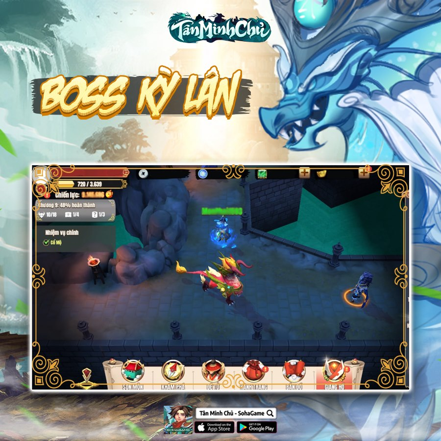 Mừng Big Update 5.0 - Phong Hỏa Liên Thành, Tân Minh Chủ tặng Giftcode siêu giá trị cho game thủ!