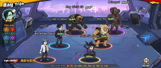 """5 đội hình gợi ý cực mạnh dành cho game thủ One Punch Man: The Strongest, """"một đấm"""" không phải là quá khó"""