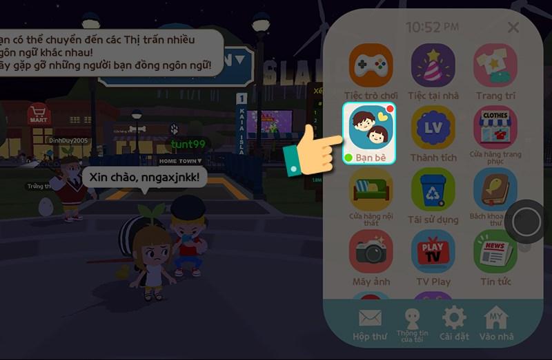 Hướng dẫn tặng quà bạn bè trong Play Logether chi tiết